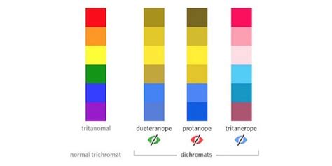types of blue colors how to design for color blindness theuxblog