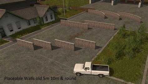 Wall Ls by Placeable Walls V 1 0 Fs 17 Farming Simulator 2017 Mod