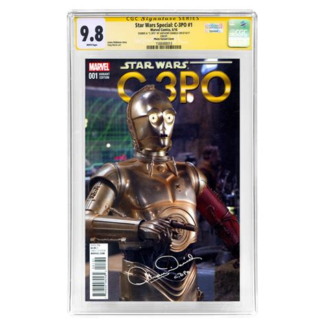 anthony daniels star wars 9 lot detail anthony daniels autographed star wars special