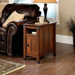 Living Room Tables With Storage Side Table Drawer Living Room Furniture Wood Shelf Storage Mission Style End Ebay