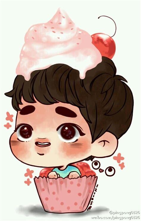 exo diy wallpaper cupcake d o cr pingpong0326 kpop fanart and diy
