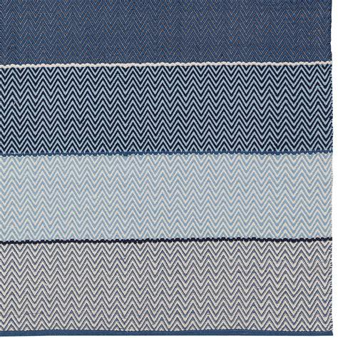 siena cotton flatweave rug in blue by chandra rugs