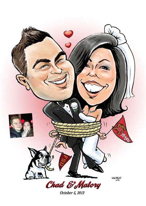 wedding invitations caricature drawings wedding caricatures caricatures by rick