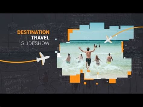 Destination Travel Slideshow After Effects Template Travel Slideshow After Effects Template