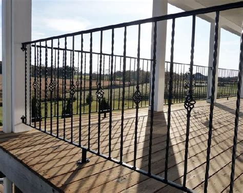metal porch railing metal porch railing back yard railings