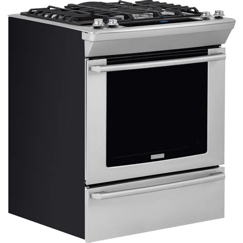 Oven Gas Electrolux ew30gs80rs electrolux 30 quot slide in gas range