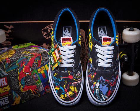 Vans Marvels Comic vans x marvel comics era lo skate shoe sneaker ebay