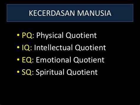 Esq Emotional Spiritual Quotient 1 remaja haus cinta