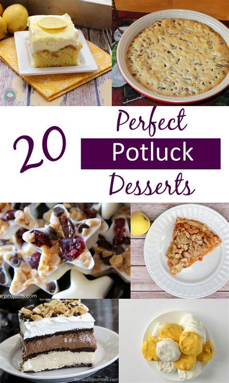20 perfect potluck desserts