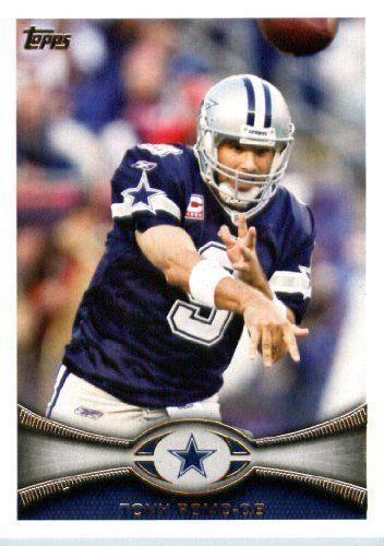 dallas cowboys cards tony romo football cards topps football card 410 tony