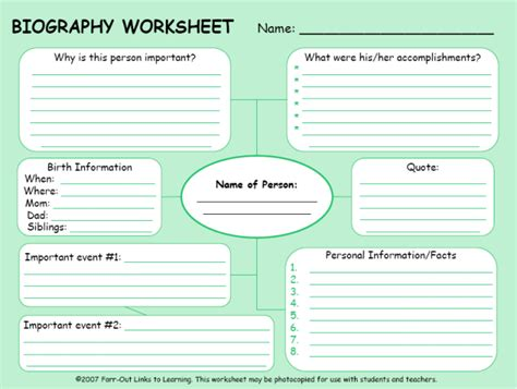self biography definition autobiography printable worksheets worksheets for all