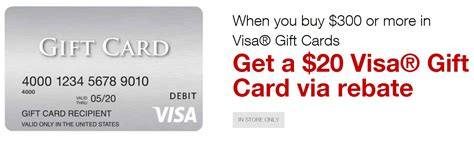 20 Visa Gift Card - staples 5x 20 rebate on 300 in visa gift cards frequent miler