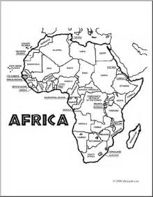 africa coloring pages coloring page of map of africa coloring pages
