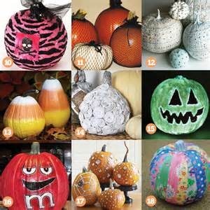 Decorating Ideas For Pumpkins 27 Cool Pumpkin Decorating Ideas