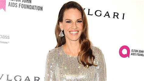 hilary swank getty hilary swank launches mission statement clothing line