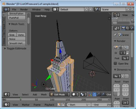 Free Modeling Software 17 best free 3d modeling software for windows