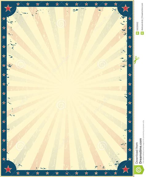 vintage circus invitation template free vintage circus poster template stock vector image 56639662