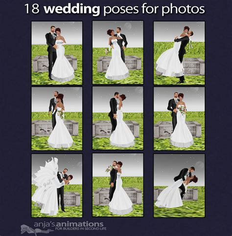 Wedding Pose by Poses For Wedding Photography Copyright Anja S Animations