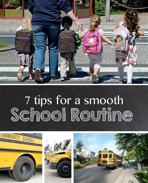 7 Tips For A Smooth Honeymoon 7 tips for a smooth school routine