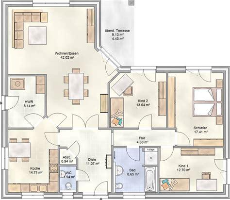 Grundriss Einfamilienhaus 140 Qm by Fam 149 Das Landhaus Mit Fast 150 Qm Wohnfl 228 Che Blohm Gmbh