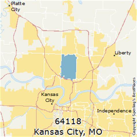 zip code maps kansas city best places to live in kansas city zip 64118 missouri