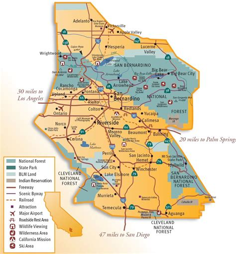 Inland Empire inland empire map search warehousing in the ie