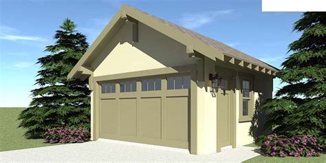 craftsman garage plan 67587