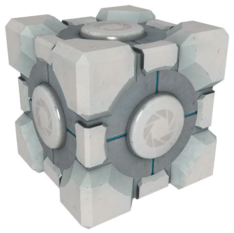 companion cube ottoman rose colored glass half full project companion weighted