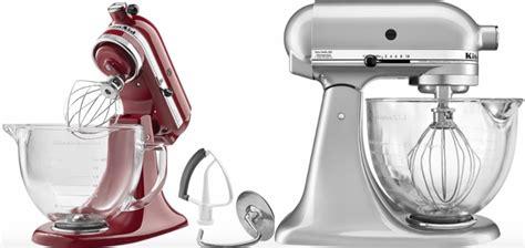 KitchenAid 5 Quart Stand Mixer w/ Glass Bowl Only $179.99