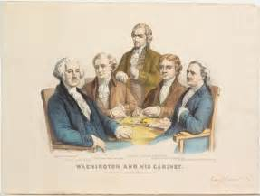 washington s cabinet members george washington 1789 1797 u s presidential history
