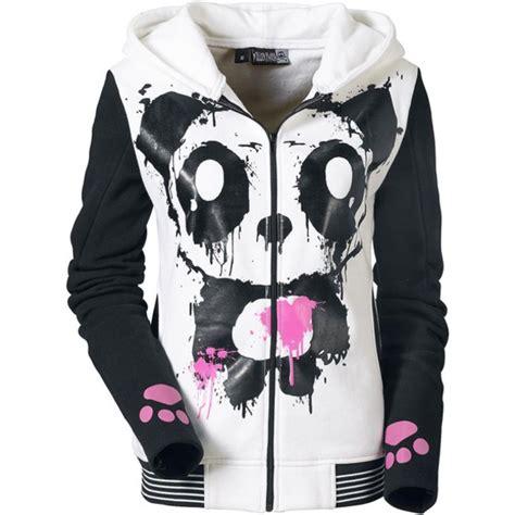 Jaket Hodie Footpint Panda sweater panda killer panda hoodie mase mase
