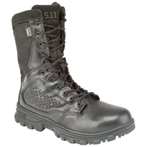 5 11 Tactical Black Blue buty 5 11 tactical evo 8 quot waterproof black 12361 019