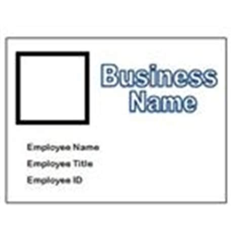 10 Free Name Badge Templates For Ms Word Free Employee Badge Template