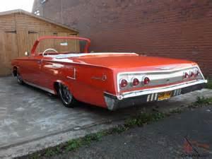 62 chevy impala custom lowrider rod