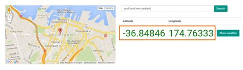 Longitude And Latitude Address Lookup Find An Addresses Coordinates With Maps Phancybox Nz