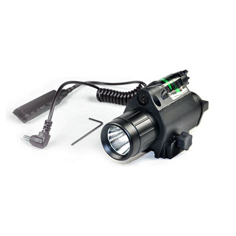 Green Dot Laser Riflescopeflashlighrechargeable tactical combo green dot laser sight with 200lm led q5