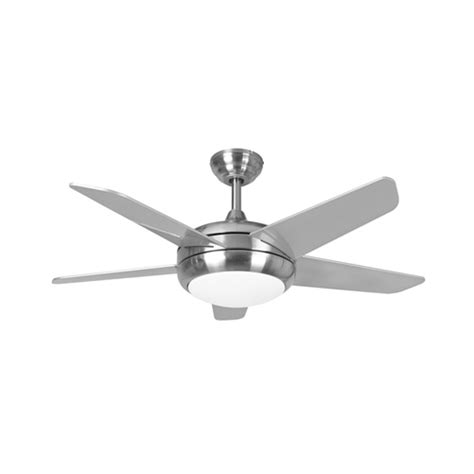 44 Inch Ceiling Fan With Light Fans Neptune Ceiling Fan 44 Inch Brushed Nickel With Led Light 115878