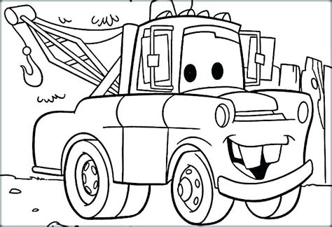 preschool coloring pages of cars coloring pages of lightning mcqueen ashleyoneill co