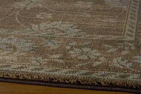 botanical area rugs yanchi area rugs area rugs botanical collection brown 5 3 quot x7 6 quot