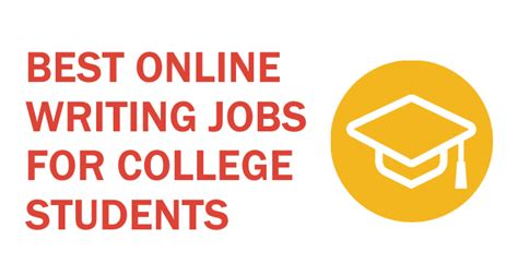 best online writing jobs for college students contentheat
