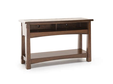ls for sofa table steinhafels craftsman console table
