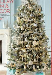 tree silver white: white and gold and silver christmas tree christmas pinterest