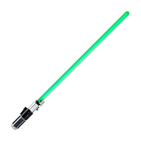 wars yoda ultimate fx lightsaber green brand new
