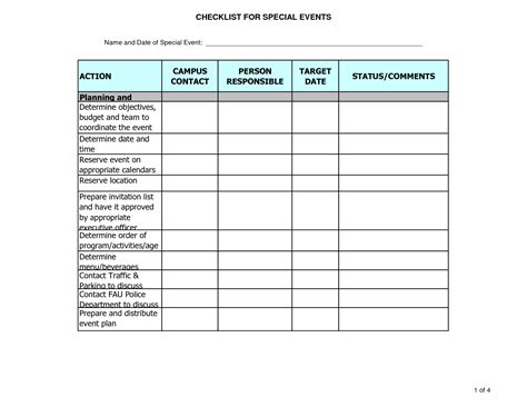 estate planning worksheet template and party planner