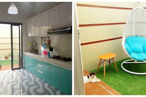 farnichar m d f disain desain idaman rumah lt 120 m ini punya taman mini di dalam