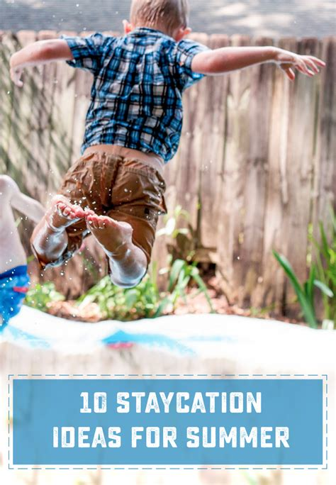 10 Brilliant Summer Ideas How 10 Great Staycation Ideas For Summer Sweet Designs