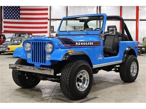 jeep suv blue jeep cj7 for sale 97 used cars from 1 200