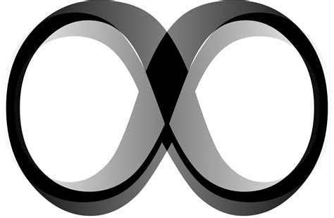 picture of infinity black infinity symbol free stock photo domain
