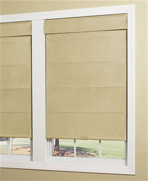 thermal window coverings home basics faux silk thermal cordless roller shades