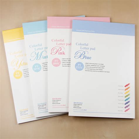Korean Business Letter Writing letter pad stationery i you multicolor letter writing